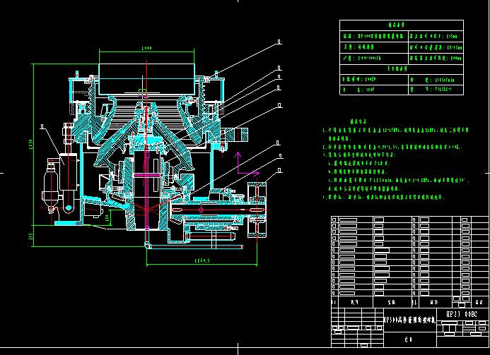 HP300高性能圆锥破碎机(标准)